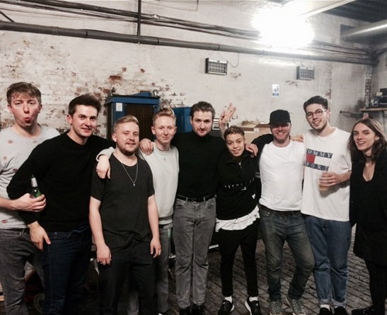 'What an amazing night supporting #wildbeasts at the 02 Academy Liverpool yesterday. Thanks to all who watched us' - Taken from Nimmo Instagram.