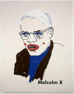 Malcolm X, Glenn Ligon